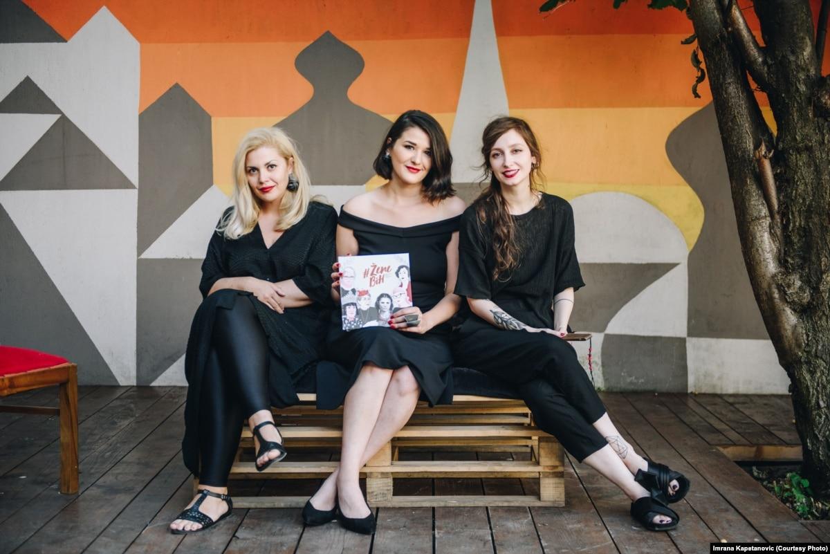 Portrait Collection Draws Bosnian Women Together