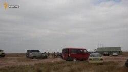 Активисты: Энергетическая блокада Крыма стартовала (видео)