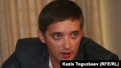 Журналист Ярослав Красиенко. Алматы, 20 қыркүйек 2010 жыл.