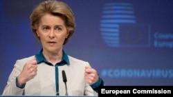 Presidentja e Komisionit Evropian, Ursula von der Leyen.
