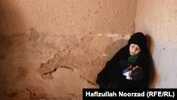 آرشیف، یک زن معتاد در ولایت فراه