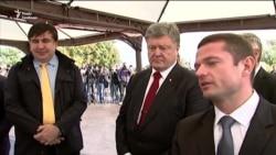 Петро Порошенко відвідав автотрасу Одеса-Рені