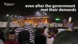 Bucharest Protesters Vow To Continue