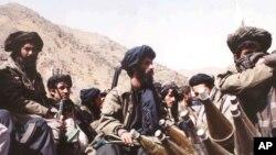 "Боевики движения ""Талибан"". Архивное фото"