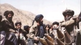 Afghanistan -- Taliban fighters seen near Kabul Thursday, Oct. 3, 1996