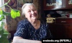Вера Пісарава, жыхарка вёскі Матушова