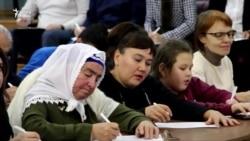 """Казанда """"Татарча диктант"""" яздылар"""