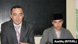 Фәрит Мифтахов (с) һәм Тәбриз Яруллин