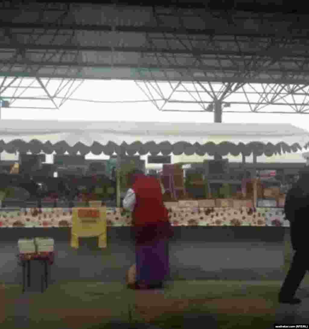 Azyk bazary, Aşgabat