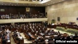 İsrail parlamentinin iclası, 17 fevral 2003