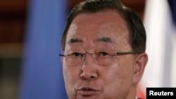 امين عام الامم المتحدة بان كي مون