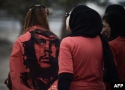 Первомайская демонстрация в Бахрейне. 2015 год