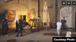 На территории арт-пространства «Портал» прошел первый в Северной Осетии street-art фестиваль ÆD'ZUK. Фото: youtube.com