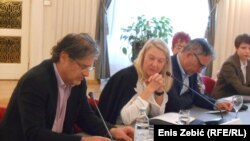 Saša Milošević, Vesna Teršelič i Milorad Pupovac