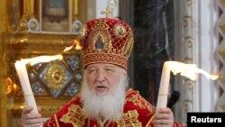 Глава Русской православной церкви патриарх Кирилл.