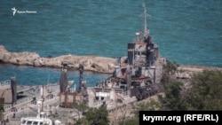 Буксир «Яны Капу» на стоянке судов «Генмол», Керчь, 20-е числа июня 2019 года