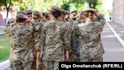 The well-known military academy's first batch of female recruits had to meet the same admission standards as boys.