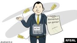 Политическая карикатура Евгения Олейника.