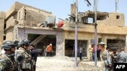 عقب انفجار سيارة مفخخة في الدورة 4 أيار 2011