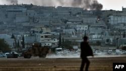 درگیریهای شدید در اطراف کوبانی روزها است که ادامه دارد
