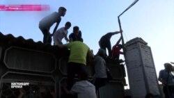 Бишкек: штурмом на стадион