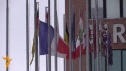 Астанадағы Франция елшілігіне гүл қойды