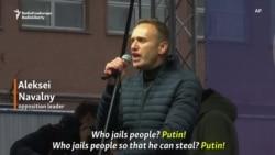 Navalny Addresses Moscow Protest