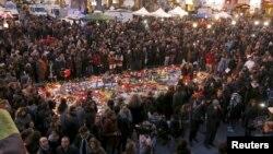 После взрывов в Брюсселе в Бельгии был объявлен трехдневный траур
