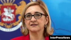 Georgian Foreign Minister Tamar Beruchashvili (file photo)