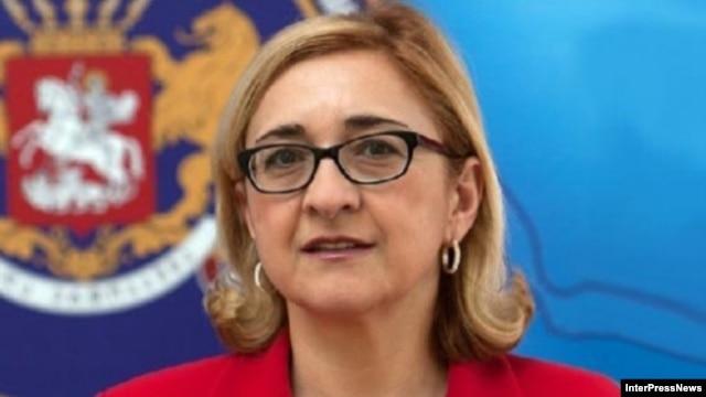 Georgia -- Tamar Beruchashvili,  appointed Foreign Minister, undated