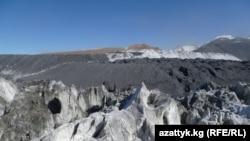 Ледник на руднике Кумтор