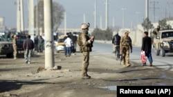 На месте взрыва. Кабул, 18 ноября 2019 г.
