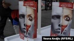 Kampanja protiv trgovine ljudima, Beograd, 2011.