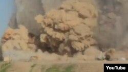 Скріншот руйнувань у Німруді