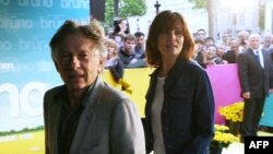رومن پولانسکی و همسرش امانوئله زایگنر