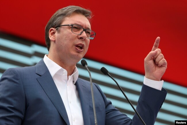 Serbian President Aleksandar Vucic's decision to choose Brnabic is seen by some as a move to appease fears of growing inequality in Serbian society and a possible move away from the West and toward traditional ally Russia.