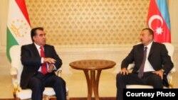 Ilhom Aliev and Emomali Rahmon prezident of Tajikistan