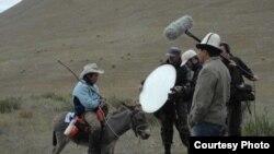 Съемки фильма в Кыргызстане. Иллюстративное фото.
