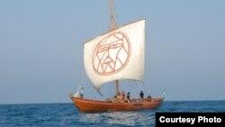 Козацький човен «Спас», фото надане прес-секретарем регати