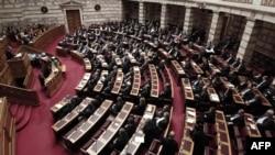 Сессия в парламенте Греции. Иллюстративное фото.