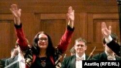 """Мәсгүдә Шәмсетдинова """"Чынгызхан"""" симфониясеннән соң"""