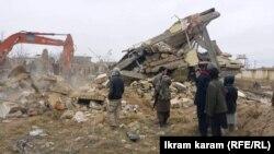 انفجار هاموی بمبگذاری شده در ولسوالی دولتآباد فاریاب