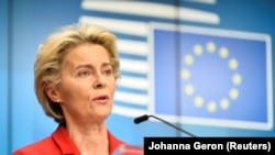 Președintele Comisiei Europene, Ursula von der Leyen