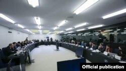 Заседание парламентского комитета по ассоциации Грузии с ЕС