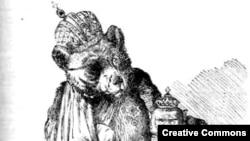 "Русский император. Карикатура Тенниэла в ""Панче"""