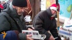 Віцебскі актывіст «працуе» Санта-Клаўсам