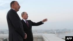 Ռուսաստանի և Ադրբեջանի նախագահների հանդիպումը Բաքվում, 13-ը օգոստոսի, 2013թ․