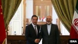 دیدار وزیران خارجه ایران و چین در تهران