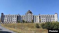 Armenia - The Golden Palace hotel complex in Tsaghkadzor.