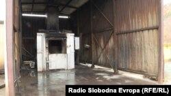 Печката за согорување медицински отпад во Дрисла